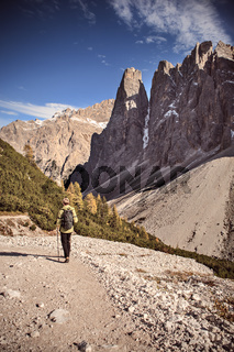 Hiking in Dolomite