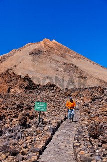 Volcano Teide in Tenerife island - Canary Spain