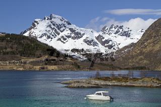 Schiff mit Innerfjorden