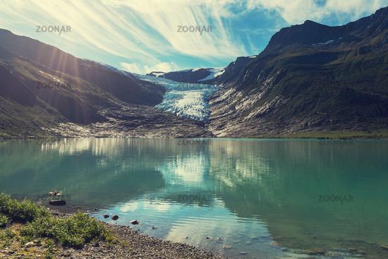 Glacier in Norway