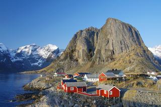 Rorbuerhütten auf den Lofoten