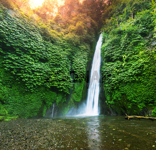 Waterfall in Indonesia