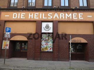 'Die Heilsarmee' in Hamburg-St.Pauli