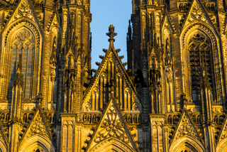 Westfassade, Kölner Dom, Köln, Nordrhein-Westfalen, Deutschland, Europa