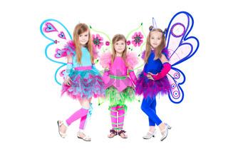 Three beautiful little girls