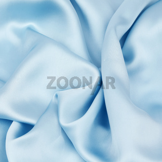 blue satin background closse up