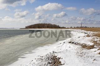 Zugefrorene Ostsee, Fehmarn, Schleswig Holstein, Norddeutschland, Deutschland, Europa