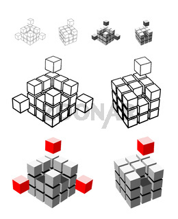 Cube illustration