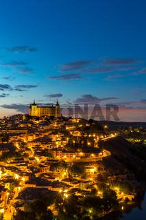 Toledo at dusk Spain
