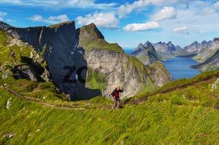 Hike in Lofoten
