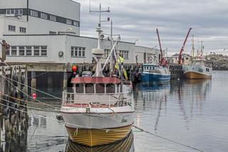 Hafen von Sorvagen
