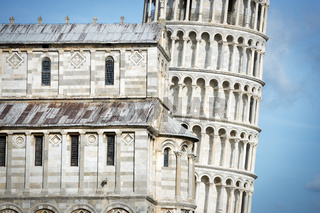 Closeup Leaning Tower