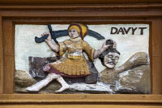 David e Golia, Alfeld, Old Latin School, Germany