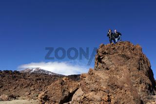 Mondlandschaft der Las Canadas im Teide Nationalpark