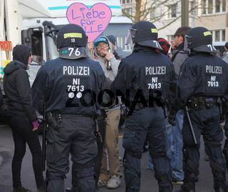Meile der Demokratie am 18.01.2014 in Magdeburg