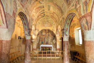 Danse Macabre fresco, Hrastovlje, Slovenia.