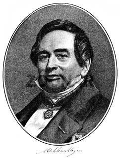 Adam Gottlob Oehlenschläger, 1779 - 1850, Danish poet