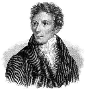Lorenz Oken, 1779 - 1851, German naturalist, botanist, biologist
