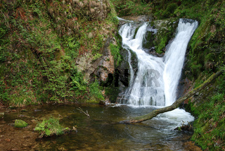 Allerheiligen-Wasserfall im Schwarzwald