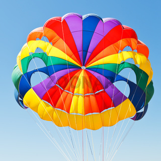 canopy of parachute for parasailing