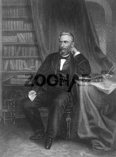 John Lothrop Motley, 1814 - 1877, American diplomat and historical writer