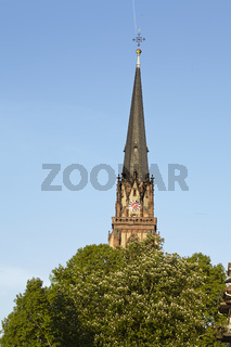 Frankfurt - Turm der Dreikönigskirche