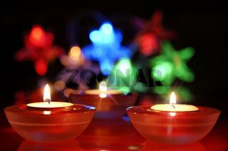 Kerzenbeleuchtung