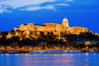 Buda Castle in Budapest