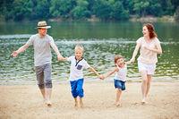 Familienurlaub in den Sommerferien