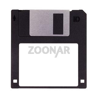Diskette isoliert auf weiß