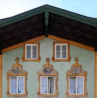 Bad Toelz Hausfassade
