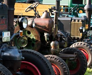 Landmaschinen-Oldtimer Ausstellung