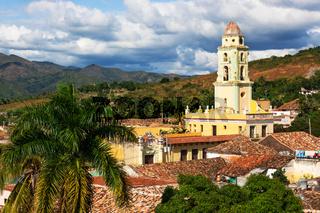 old church in Trinidad