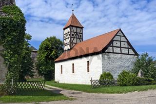 Dorfkirche Mahlenzien, Brandenburg, Deutschland