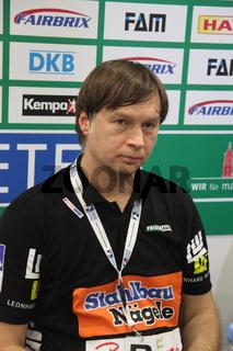 Handballtrainer,ehemaliger Handballspieler Aleksandar Knezevic Saison 13/14 FA Göppingen,Jugoslawien