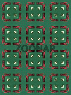 Muster - Ornament mit Wäscheklammern