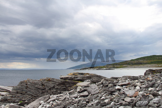 Summer north norwegian landscape