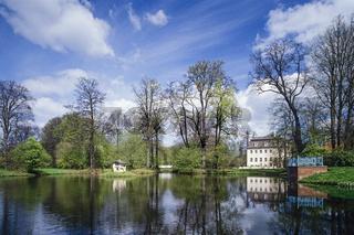 Schwarzer See, Park Branitz, Cottbus, Brandenburg