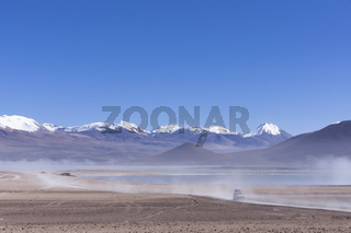 Bolivia, Laguna Blanca