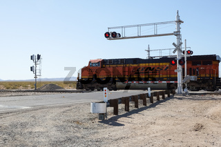 Bahnübergang in den USA