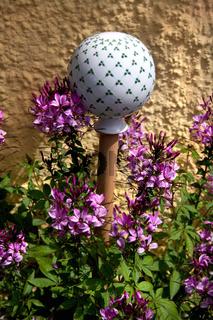 Gartenkugel, Keramikkugel, Keramik