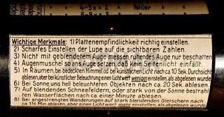Historischer Belichtungsmesser  (2)