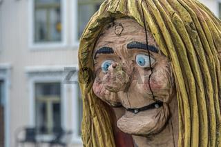 Portrait einer Trollfrau