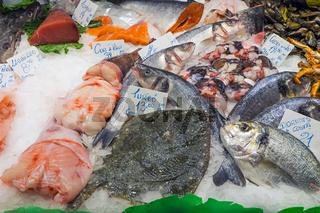 Frischer Fisch auf dem Markt