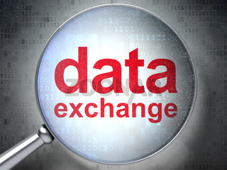 Information concept: Data Exchange with optical glass