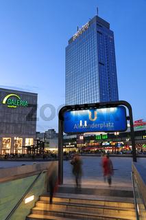 Hotel Park Inn am Alexanderplatz, Berlin, Deutschland, Europa
