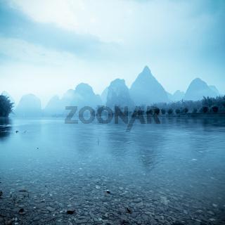 beautiful yangshuo landscape