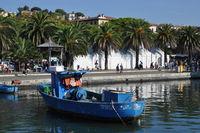 Fischerboot bei La Spezia
