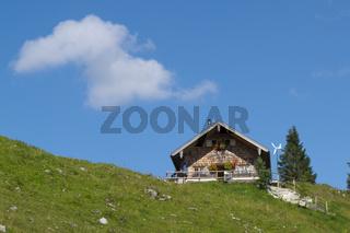Berghütte in Bayern