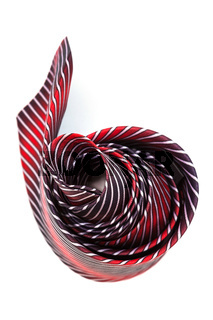coiled tie